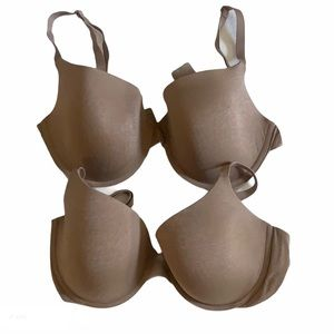 Victoria Secret uplift semi demi bras